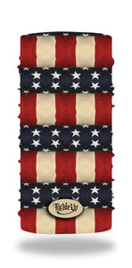 American Flag Sun Shield