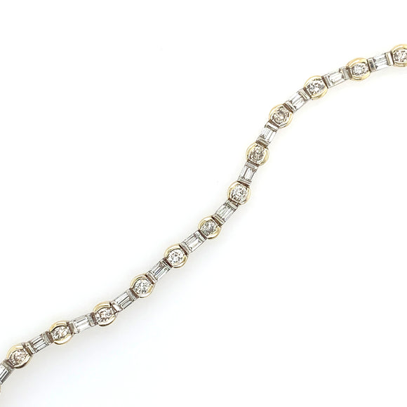 Flexible Diamond Bracelet