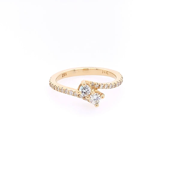 Love & Friendship Diamond Ring