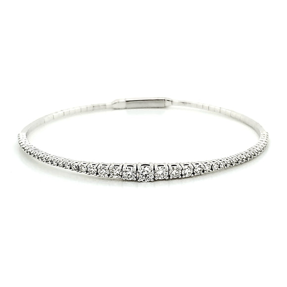 Tapered Diamond Bracelet