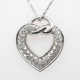 Boucheron Diamond Heart Necklace