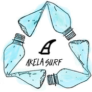 Akela Surf Recycle Logo