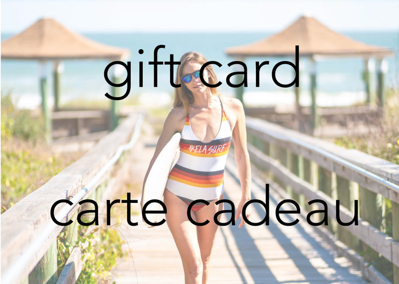Akela Surf Gift Card