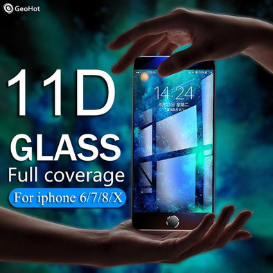 11D Protective Glass - iPhone
