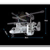 RC Airforce Osprey infrared Plane