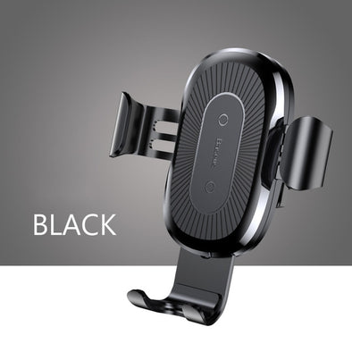 BASEUS Qi Car Wireless Charger For iPhone 8 X XS Max XR Samsung