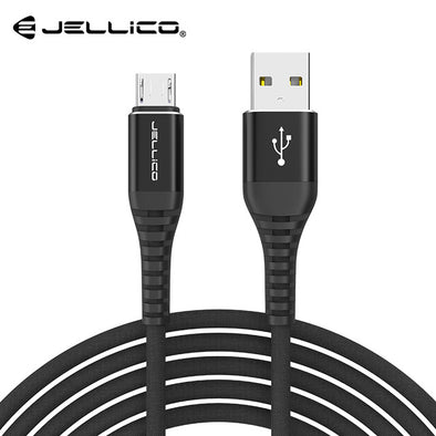 JELLICO 3.1A Micro USB charger Cable for Samsung Xiaomi LG