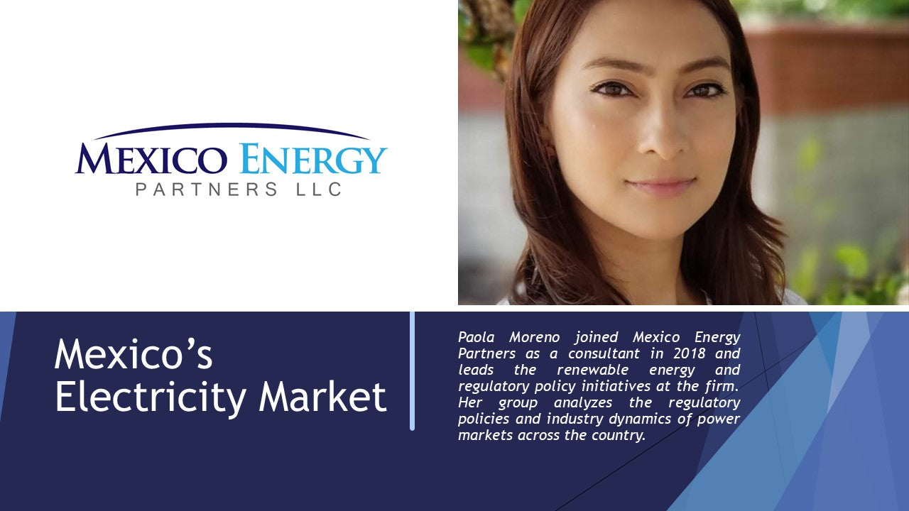 Mexico Energy Partners Paola Moreno