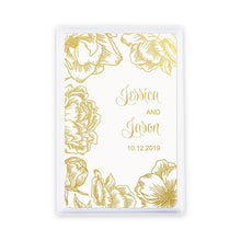 Load image into Gallery viewer, Playing Card Favors- Modern Floral