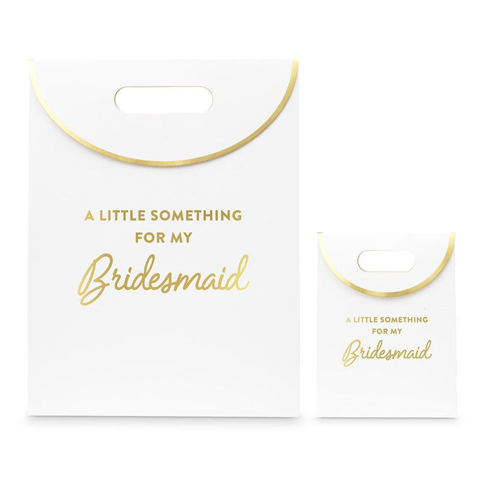 Paper Gift Bag With Handles -For My Bridesmaid