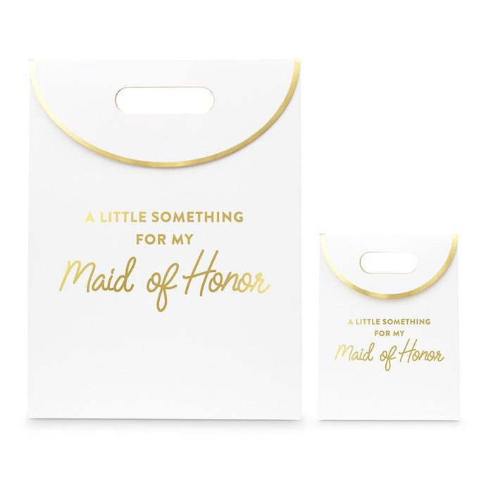 Paper Gift Bag With Handles -For My Maid of Honor