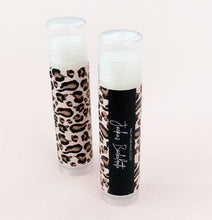 Load image into Gallery viewer, Leopard Print Lip Balm Tubes