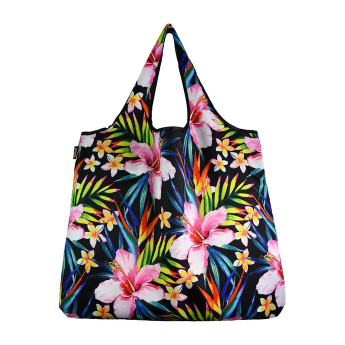 YaY Bag Jumbo Pink Hibiscus Reusable Bag