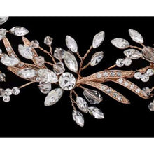 Load image into Gallery viewer, Bridal Hairband/Belt: Rhinestone & Crystal / 1.25H - Bridal head Band