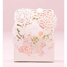 Load image into Gallery viewer, Floral Garden Favor Box (pk 10)