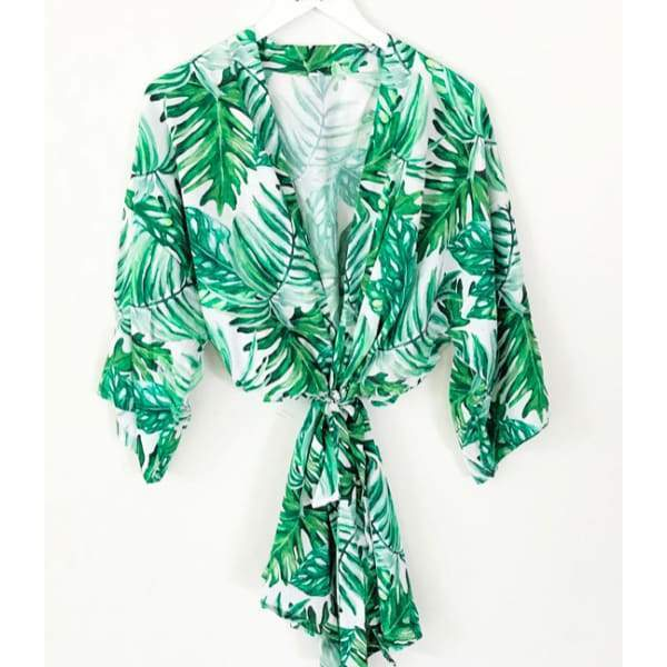 Palm Leaf Cotton Robes - Palm Leaf Cotton Robe