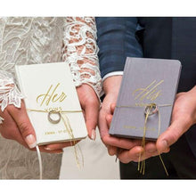 Load image into Gallery viewer, Personalized Vow Pocket Notebook Her Vows