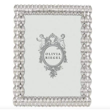 "Load image into Gallery viewer, Olivia Riegel SILVER DARBY 5"" X 7"" FRAME"