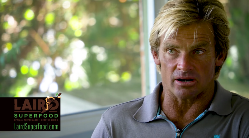 GQ Magzine _ Features Laird Hamilton on Laird Superfoods.