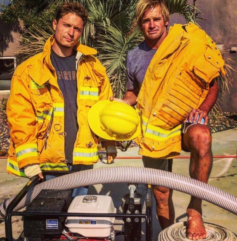 Laird Hamilton - The Firefighter