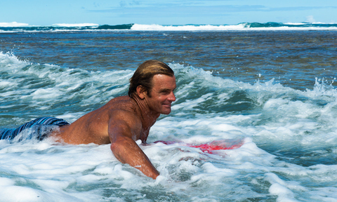 Laird Hamilton at Tunnels Kauai. Shot for American Way Magazine