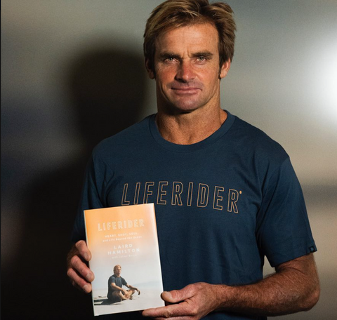 Liferider, Laird Hamilton's latest book, Laird Hamilton book launch Los Angeles