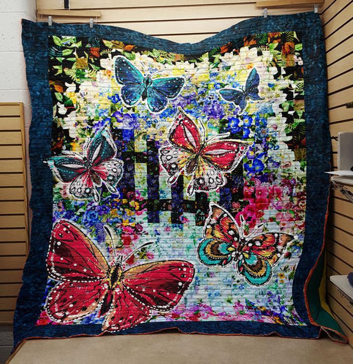 Colorful Butterfly- Premium Blanket (NQC79)