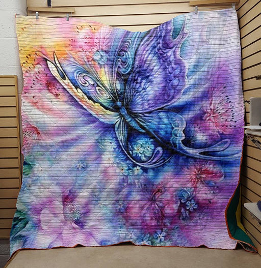 Happy Butterfly- Premium Blanket (C83)