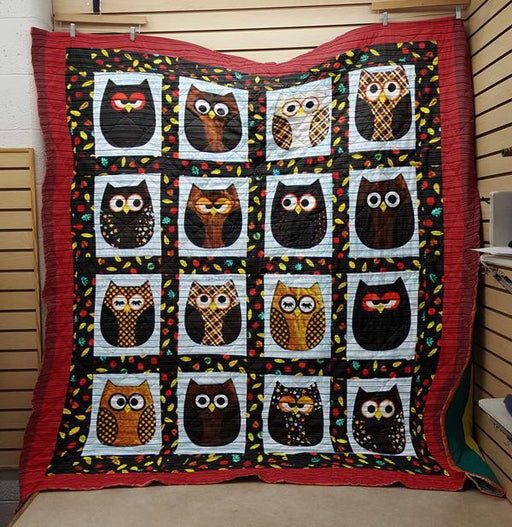 16 shades of owls - Premium Blanket