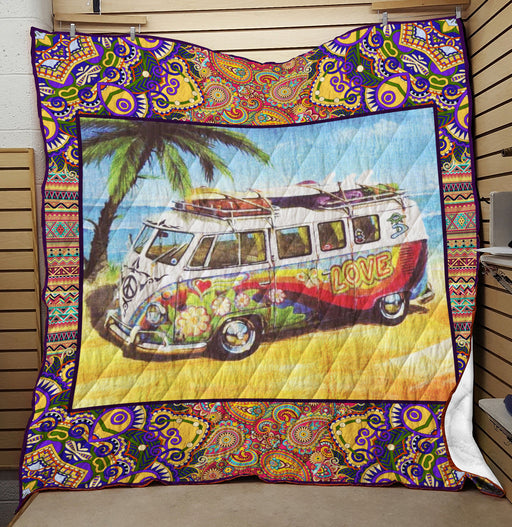 Love Bus- Premium Blanket (NQC98)