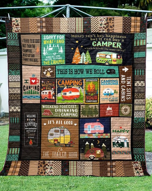 A Simple Camping Lover - Premium Blanket