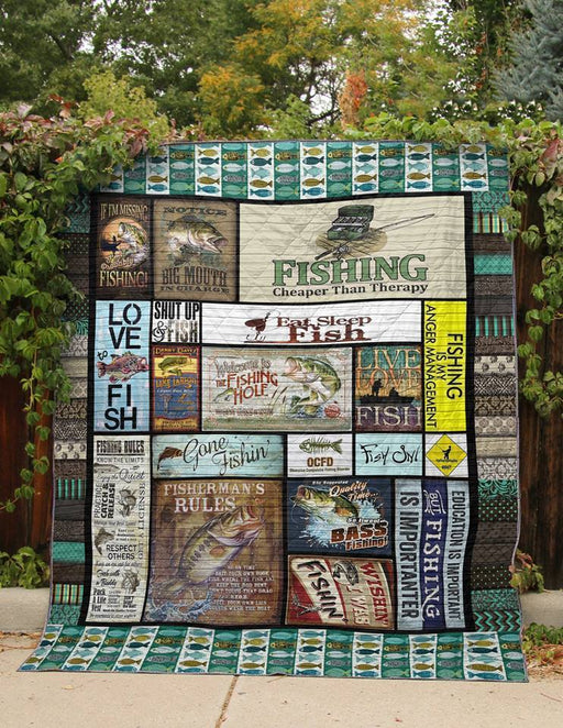 FISHING  - Premium Blanket