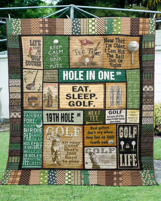 HOLE IN ONE - Premium Blanket