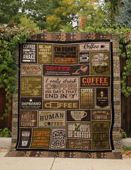 A Simple Coffee Lover - Premium Blanket
