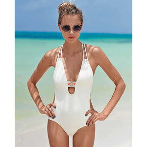 XINYEJINLIN One Piece Swimsuit - Beach Body Wear (Bikinis, Swimwear and Swimsuits)