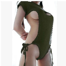 Virgin Killer Sweater Bodysuit Japanese Style (Small Opening in Front)