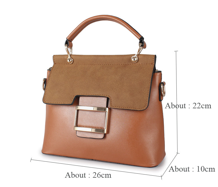 edaed07cd4b1 ZMQN Women Bag Vintage Shoulder Bags 2018 Buckle PU Leather Handbags  Crossbody Bags For Women Famous