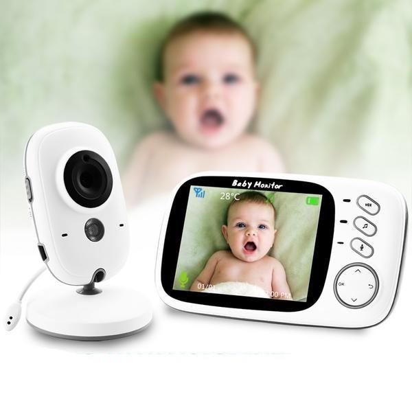 Baby Monitor Security Camera - 3.2-inch Wireless Video Little Sunshine L.L.C 200004344