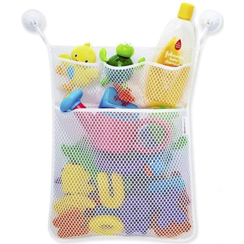 Baby Bath Toys Hanging Storage Bag - 14:29#white - | Little Sunshine Baby Shop