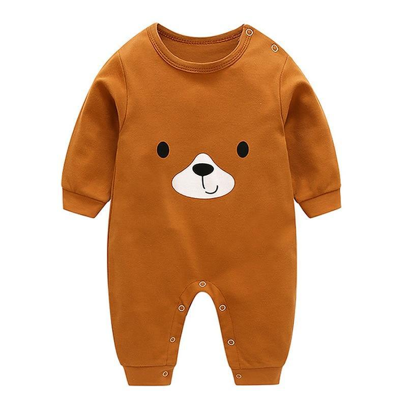 Baby Bear Romper Onesie Soft Body Suit Little Sunshine Baby Shop 31006