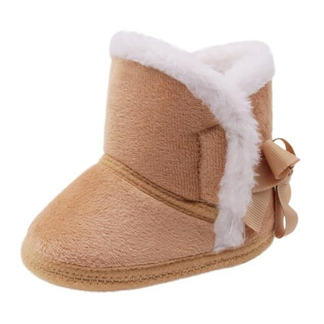 Baby Eskimo Soft Boot Style Booties Little Sunshine Limited Dark Khaki / 3