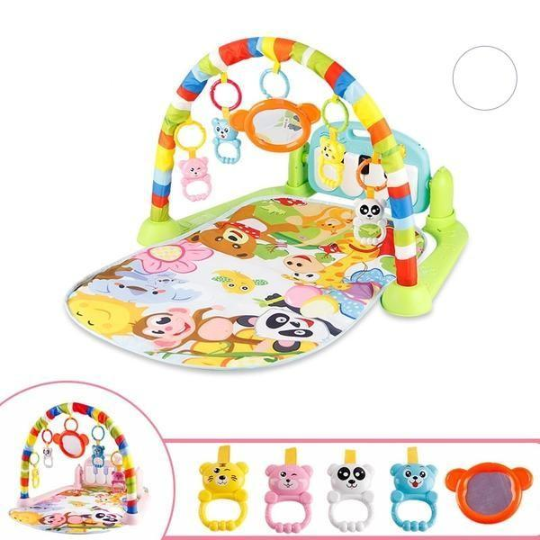 Baby Gym Educational Musical Fitness Play Mat - 200007763:201336100;14:175;5:4#75X63X45CM - Play Mats| Little Sunshine Baby Shop