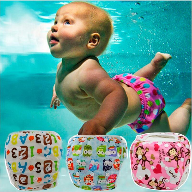 Little Sunshine Baby Shop 200001341 Cute Waterproof Baby Swimming Diaper - Reusable