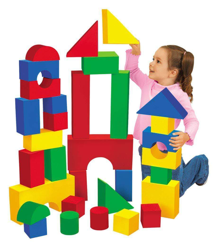 Foam Building Block Sets for Children Little Sunshine LLC 2622