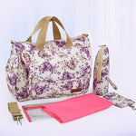 Insular Multi-functional Baby Diaper Bag Little Sunshine Limited 100001871 Lavender
