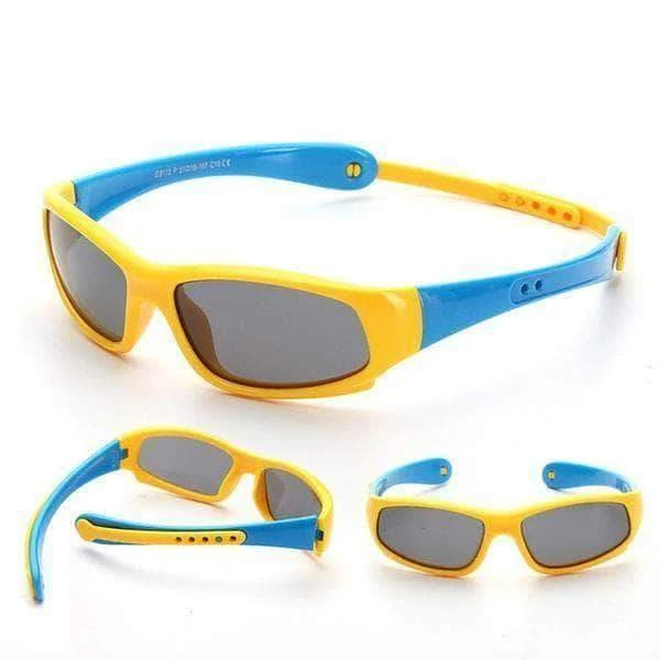Kids Polarized Sporty Fashion Style Sunglasses Little Sunshine LLC 33902