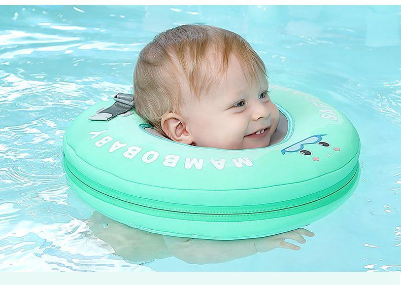 Baby Neck Ring Floater Water Swimmer - 14:4602#upgrade L blue - Bath & Pool Floats, Learning, Safety, Swim Trainers| Little Sunshine Baby Shop