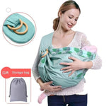 Little Sunshine L.L.C 200002065 Dark Blue / Jelly Fish Newborn Ergonomic Baby Sling Carrier 20kg Capacity