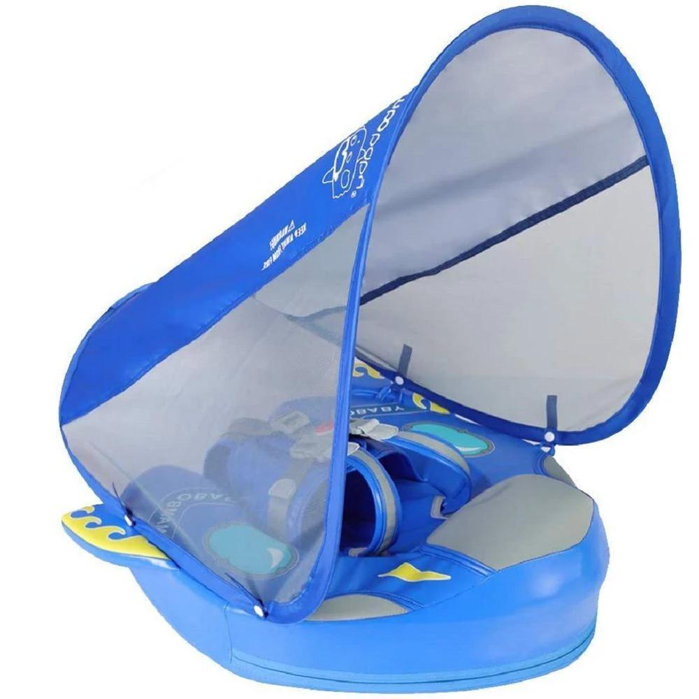 Rocket Ship Water Floating Swim Training Device - 14:29#blue - | Little Sunshine Baby Shop