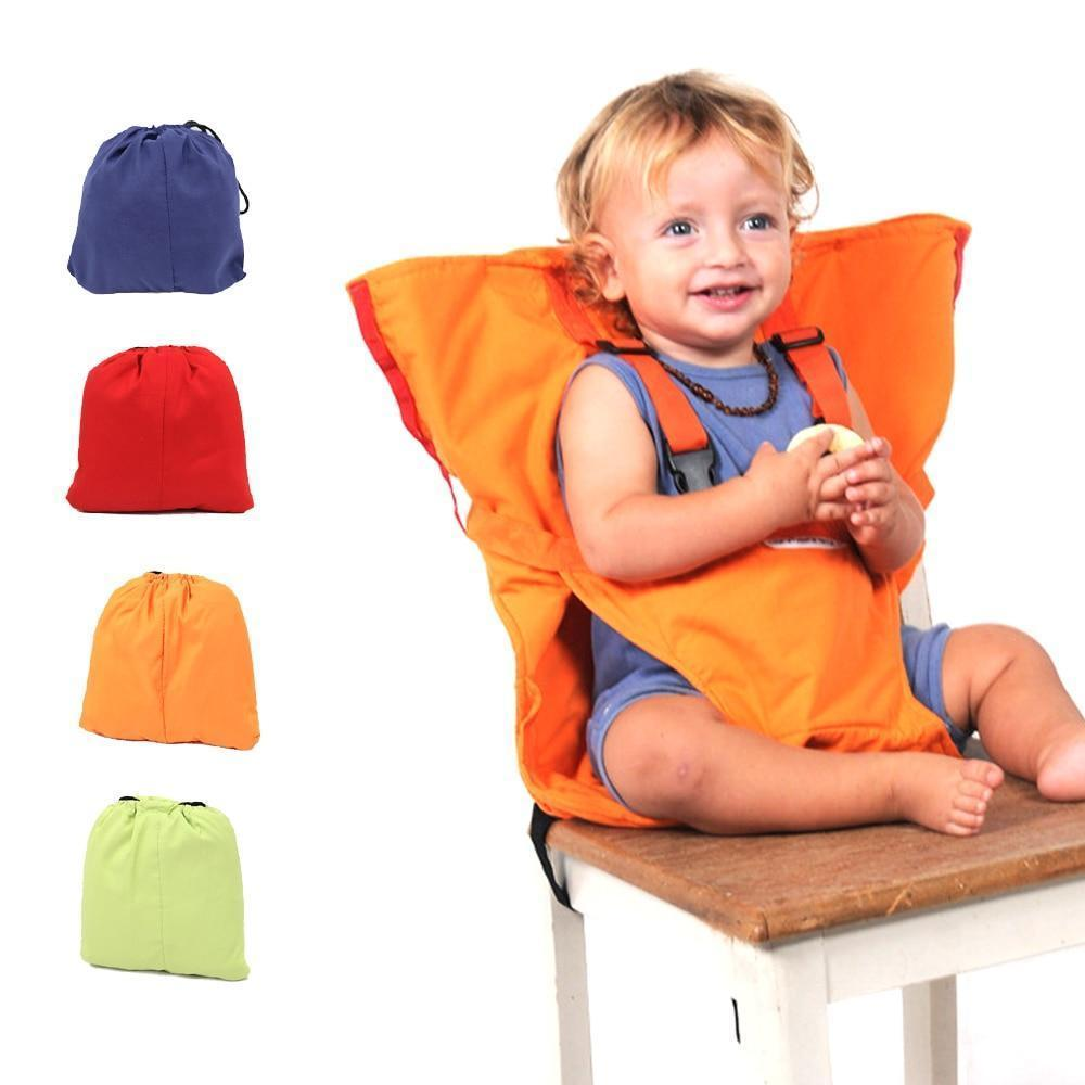 Travel Foldable Baby Dining Lunch Chair - 14:173#Dark Blue - | Little Sunshine Baby Shop